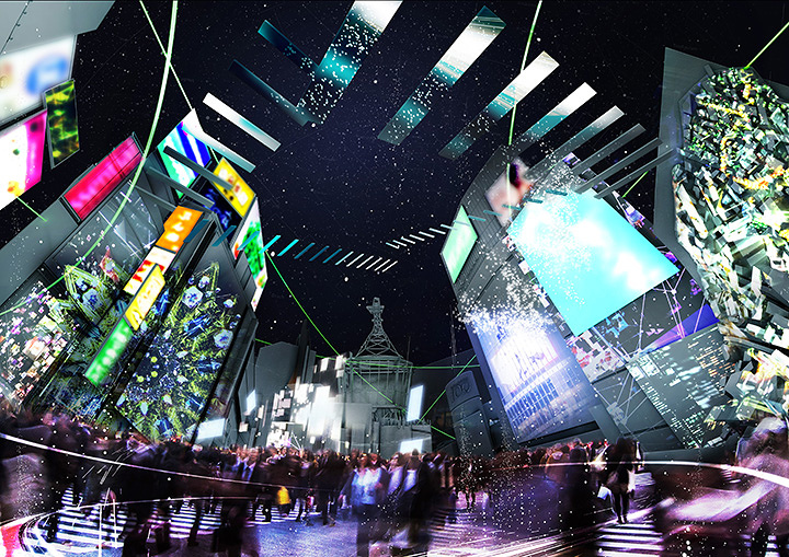 『TOKYO ART CITY by NAKED』新宿エリアイメージビジュアル