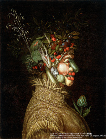 ジュゼッペ・アルチンボルド『夏』1572年 デンバー美術館 ©Denver Art Museum Collection: Funds from Helen Dill bequest, 1961.56