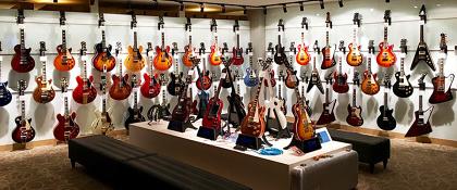 Gibson Brands Showroom Tokyoイメージビジュアル