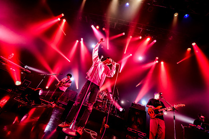 """Suchmos 東京・新木場STUDIO COASTで行なわれた『TOUR THE KIDS """"EXTRA SHOW""""』より"""