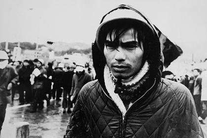 『佐世保原子力空母エンタープライズ寄港阻止闘争 1968』 ©Shunji Dodo