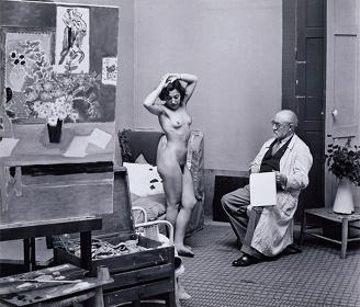 ブラッサイ『マティスとモデル、1939年』1973年