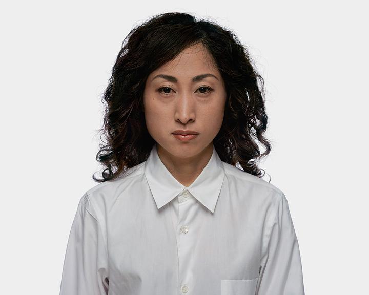 北島敬三『Suga Chitose Oct. 28, 2005』 『PORTRAITS』より  2005年  発色現像方式印画