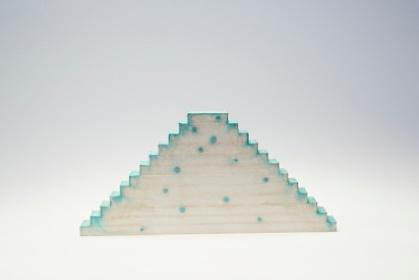 『河口龍夫 垂直の音と階段時間』イメージビジュアル