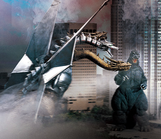 『ゴジラVSキングギドラ』TM & ©1991 TOHO CO.,LTD.