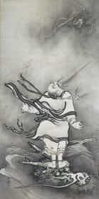 雪村『呂洞賓図』重要文化財 大和文華館蔵 展示:8/1~20