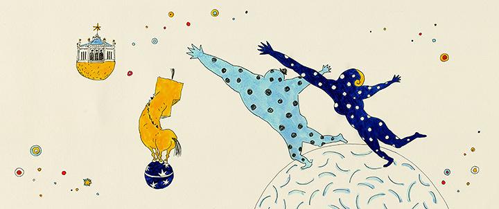 『サティの「パラード」』 ©Yamamura Animation