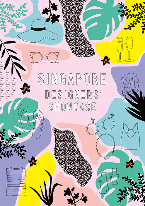 『Singapore Designers' Showcase』メインビジュアル
