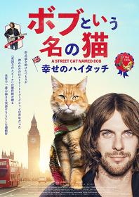 『ボブという名の猫 幸せのハイタッチ』 ©2016 STREET CAT FILM DISTRIBUTION LIMITED ALL RIGHTS RESERVED.