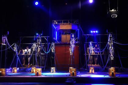 『ゾンビオペラ』(フェスティバル/トーキョー15)より