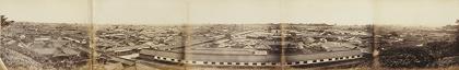 フェリーチェ・ベアト『愛宕山から見た江戸のパノラマ』鶏卵紙 DIC川村記念美術館
