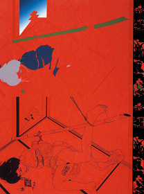 『責場A』1969年 90.8×67.8cm シルクスクリーン・紙 東京都現代美術館蔵