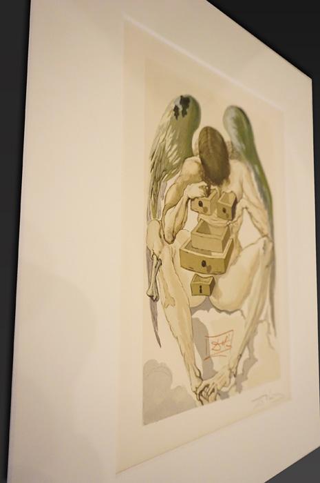 『「ダリの挿絵版画」―絵を読む、物語を見る。』イメージビジュアル サルバドール・ダリ『ダンテ「神曲」煉獄篇』1960~63年