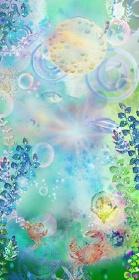 『蟹の親子と輝く泡』イメージビジュアル