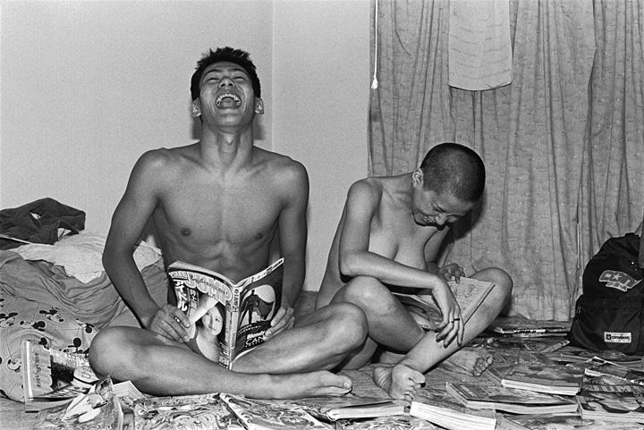 長島有里枝『Self-portrait(Brother #34)』1993年 ゼラチン・シルバー・プリント 東京都写真美術館蔵