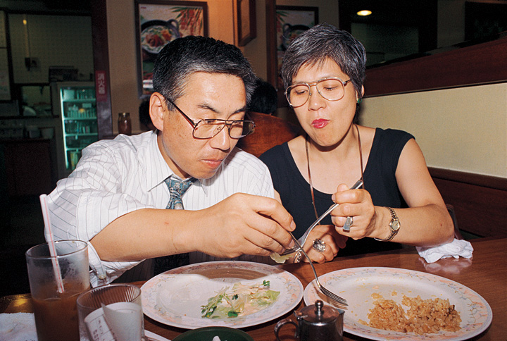 長島有里枝〈家族〉より 1994年 発色現像方式印画