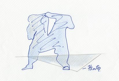 安藤忠雄のスケッチ