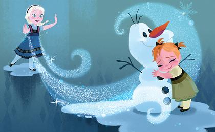 『アナと雪の女王』より 2013年 ©Disney Enterprises, Inc.