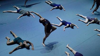 『ミスター・ガガ 心と身体を解き放つダンス』 ©Gadi Dagon