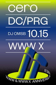 "『WWW & WWW X Anniversaries ""cero × DC/PRG""』ポスタービジュアル"