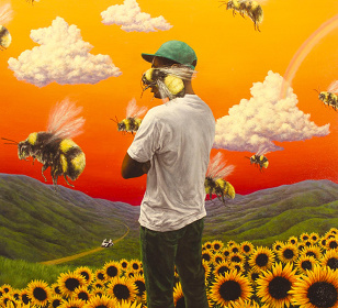 Tyler, the Creator『Flower Boy』ジャケット