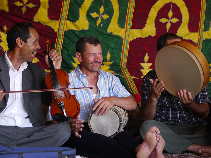 The Master Musicians of Joujouka in Tokyo演奏風景