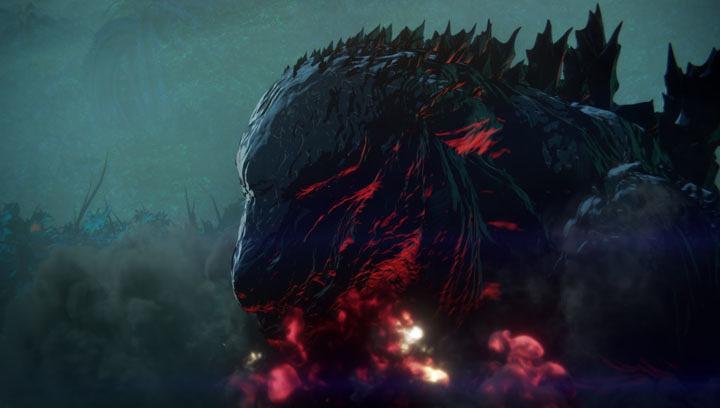 『GODZILLA -怪獣惑星-』ティザービジュアル ©2017 TOHO CO.,LTD