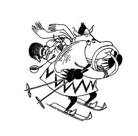 トーベ・ヤンソン作 小説『ムーミン谷の冬』より ©Moomin Characters