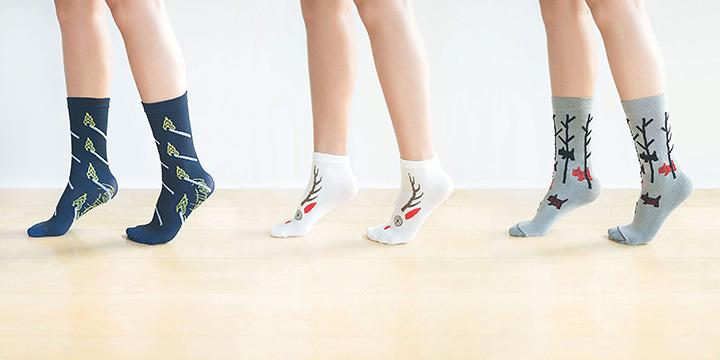 「つつの靴下」