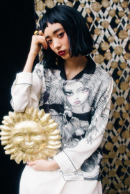 QXQX ©Aquirax uno/APJ 撮影協力/Haute Mode Hirata モデル/晶(Trapeziste) フォトグラファー/藤井由依(Roaster)