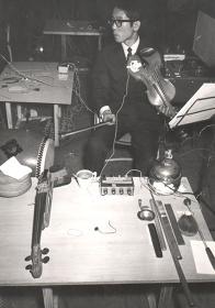 マース・カニングハム舞踊団 神戸公演 リハーサル風景 (1964年)