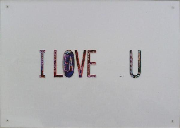 オノ・ヨーコ『I LOVE U』(2004)