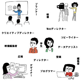 『TOKYO OFFICE CRUISING』イメージイラスト ©大橋裕之