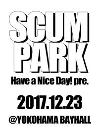 『SCUM PARK 2017』フライヤービジュアル