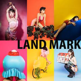 磯部昭子『LAND MARK』ビジュアル