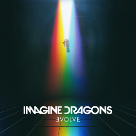 IMAGINE DRAGONS『Evolve』ジャケット