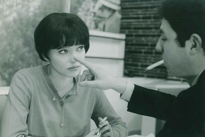 『女と男のいる舗道』 ©1962.LES FIKMS DE LA PLEIADE.Paris