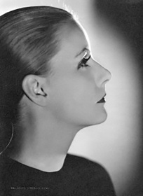 Greta Garbo ©Metro-Goldewyn-Mayer Photo by Clarence Sinclair Bulle/G.I.P.Tokyo