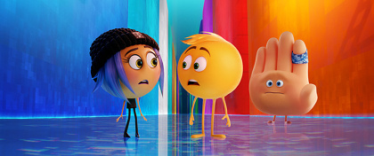 "『絵文字の国のジーン』 ©2017 Sony Pictures Animation Inc. All Rights Reserved. ""emoji""TM is a trademark of emoji company GmbH used under license."
