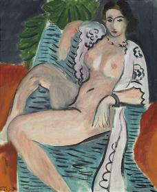 アンリ・マティス《布をまとう裸婦》1936年 Tate: Purchased 1959, image ©Tate, London 2017