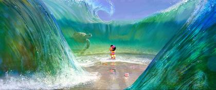 『モアナと伝説の海』より 2016年 ©Disney Enterprises, Inc.