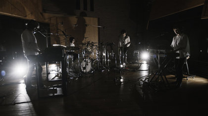 Cornelius スタジオライブ撮影の様子 撮影:稲垣哲朗