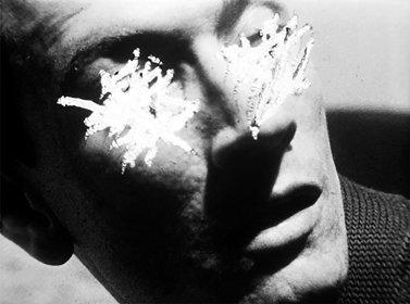 Film still, Stan Brakhage, Reflections on Black, 1955