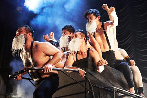開幕ペナントレース『King Lear, SADAHARU −リア王貞治−』 撮影:池村隆司
