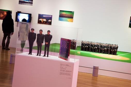 YMO+宮沢章夫 キュレーション展示風景