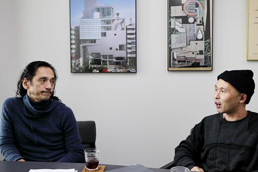 左から:川口隆夫、飯名尚人