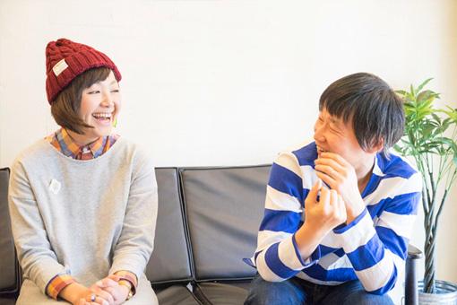 左から:岩崎愛、福田利之
