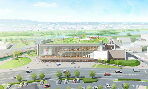 富山県美術館(完成予想図)