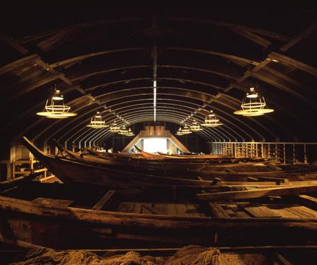 『海の博物館』(三重県) 写真:内藤廣建築設計事務所