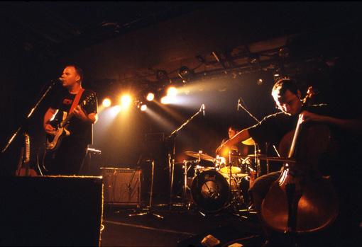 2004年8月にネストで行われたDavid Grubbs来日公演の模様(撮影:相田晴美)